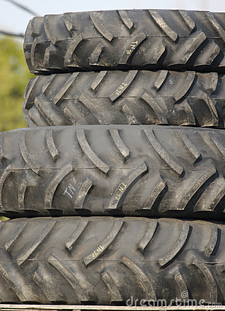 Tractor or Heavy Construction Tires