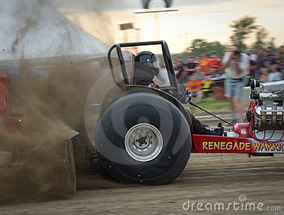 Tractor Pull 9 Editorial Photo