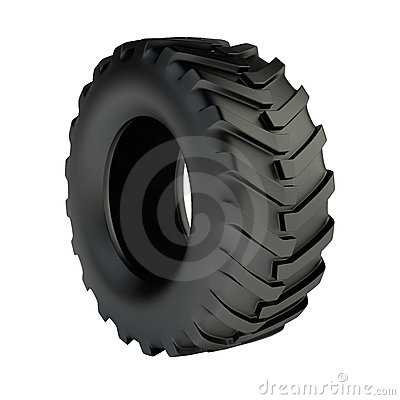 Free Tractor Tyre Stock Images - 14263584