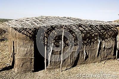 Traditinal massai house