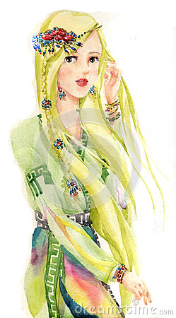 tradition girl