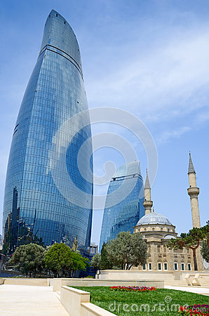 Tradition and modernity. Architecture of Baku