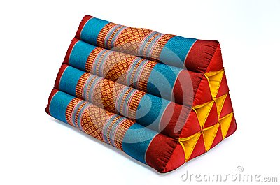 Tradition native Thai style pillow