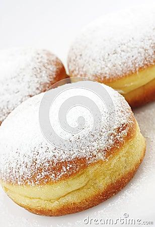 Tradition slovenian doughnuts