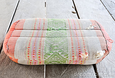 Tradition Thai old pillow