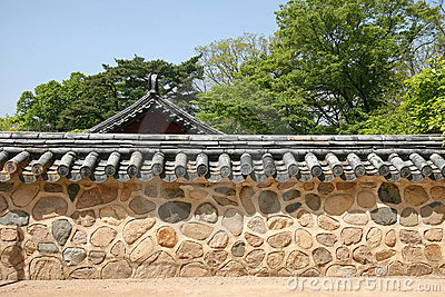 Traditiona korean wall