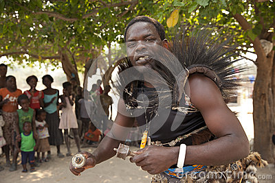 Traditional African medicine man Editorial Image