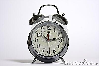 A traditional alarm clock