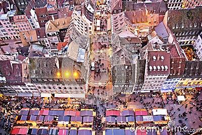 Traditional Alsatian Chirstmas Market