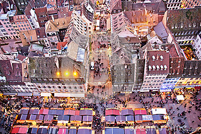 Traditional Alsacian Chirstmas Market