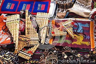 Traditional Andean Handicraft.
