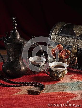 Free Traditional Arabic Coffee Stock Image - 20567431