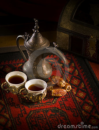 Free Traditional Arabic Coffee Royalty Free Stock Image - 20620426