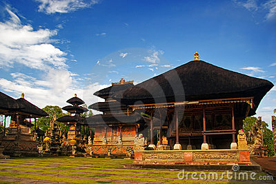 Traditional architecture of Bali