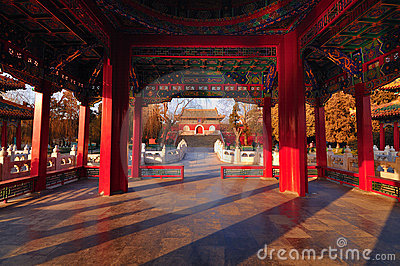 Traditional Architecture -The Beihai Pavilions