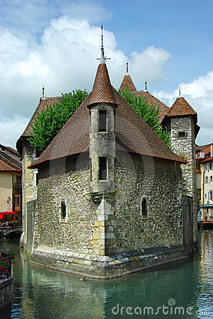 Free Traditional Architecture Of Annesy, France Stock Image - 14214191