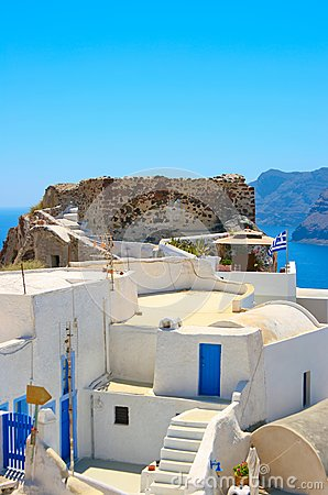 Traditional architecture in Santorini
