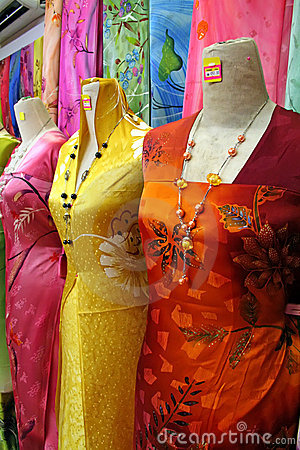 Traditional asian fabrics