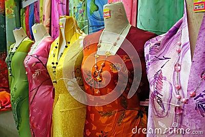 Traditional asian fabrics