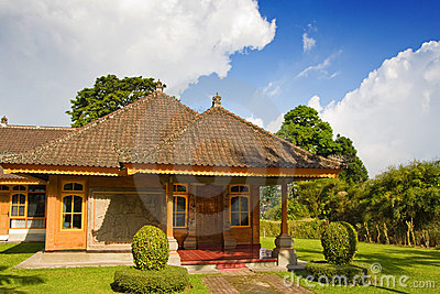Traditional Balinese house.