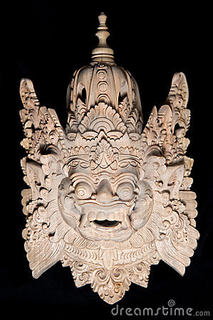 Traditional Balinese Mask