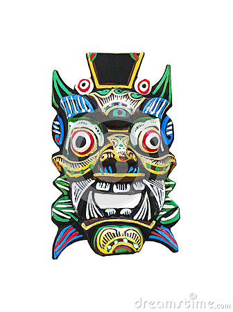 Free Traditional Balinese Mask Royalty Free Stock Photo - 39508585
