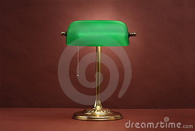 Traditional Banker s Lamp