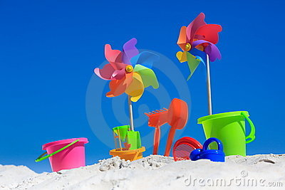Traditional beach toys