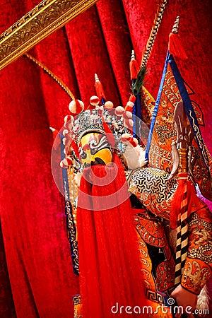 Beijing opera waxwork