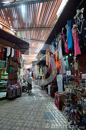 The traditional Berber market Editorial Stock Photo