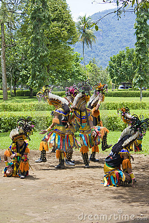 Traditional Borobudur Dance Editorial Stock Image