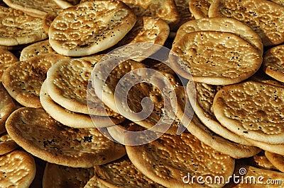 Traditional bread of xinjiang, china