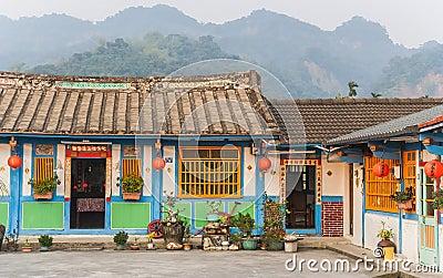 Traditional brick villas