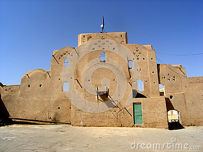 Traditional building in Yazd
