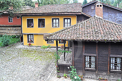 Traditional bulgarian architecture