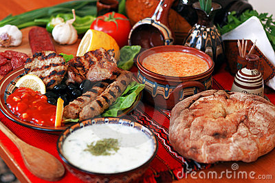 Traditional Bulgarian Dining-table