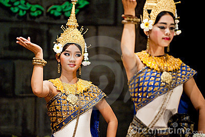 Traditional Cambodian Dance Editorial Photography