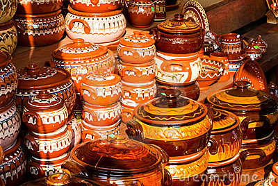 Traditional ceramic pots
