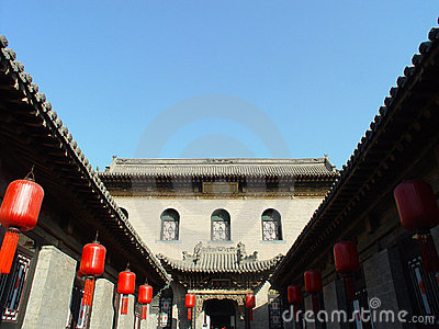 Traditional Chinese courtyard