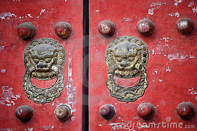 Traditional Chinese door