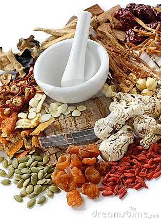 Free Traditional Chinese Herbal Medicine Stock Image - 23899281