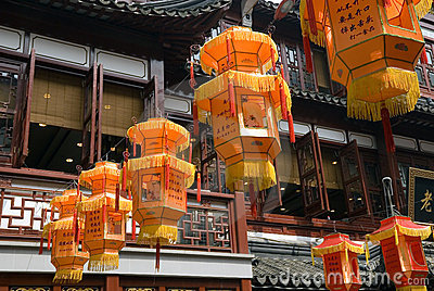 Traditional Chinese lamps