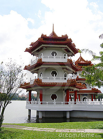 Traditional chinese pagoda