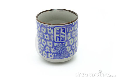 Traditional Chinese prosperity teacup