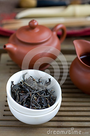 Traditional chinese tea ceremony accessories