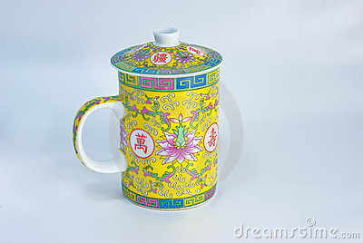 Traditional Chinese tea cup