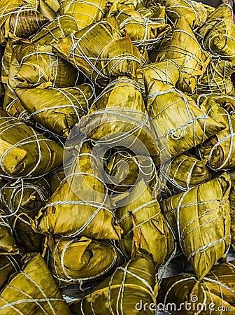 Traditional Chinese Zonzi Dumplings