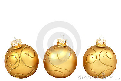 Traditional christmas balls
