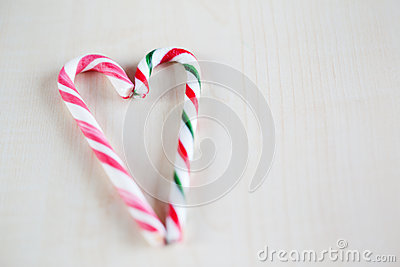 traditional christmas candy heart