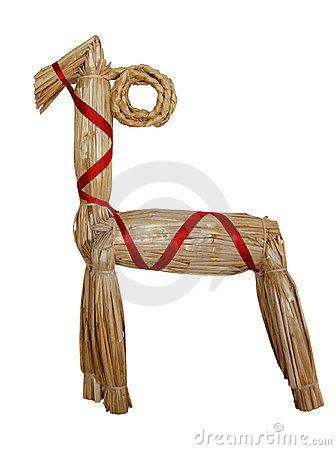 Traditional christmas goat